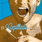 chico con boca abierta ilustra el cepillado dental