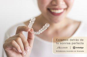 Ortodoncia invisible en clinica de vicente ortodoncia granada