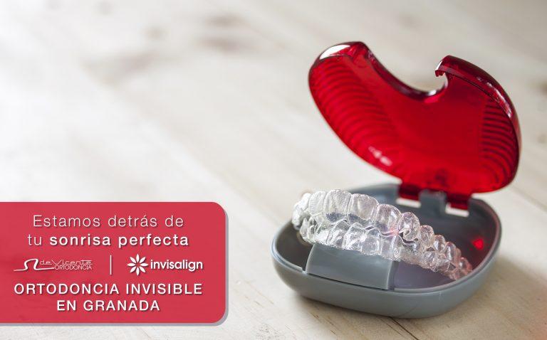 ortodoncia invisible invisalign en De Vicente Ortodoncia de Granada