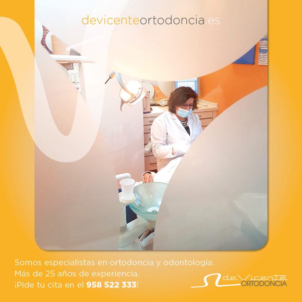 Ángeles de Vicente especialista en ortodoncia en granada