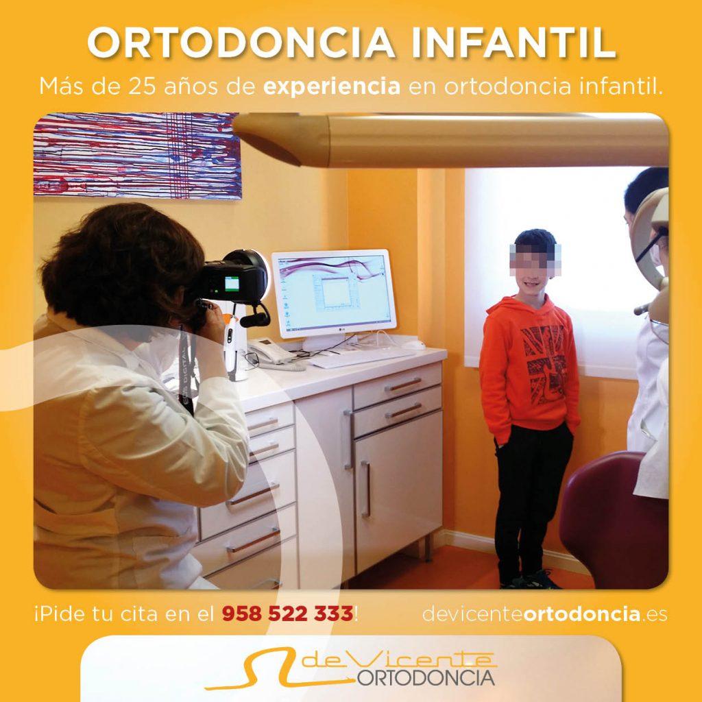 ortodoncia infantil en Granada con la doctora Ángeles de Vicente